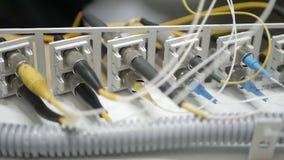 Determinación de un cable del proveedor de Internet metrajes