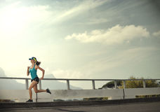 determinaci wytrzymałości biegacz Obraz Stock