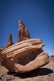 determinacja Moab góruje Utah Zdjęcia Stock