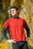 Determinação no esporte Fotos de Stock Royalty Free