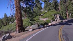 Determinare la curvatura con la mezza cupola di Yosemite video d archivio
