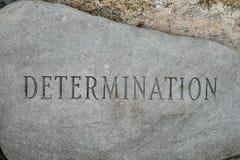 Determinazione immagine stock