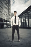 Determined Businessman Stock Photo