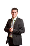 Determined businessman Stock Photos