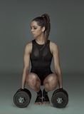 Determined fit sexy woman Royalty Free Stock Photo