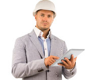 Determined young architect Stock Photography