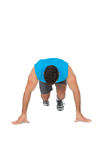 Determined young man doing push ups Stock Photography