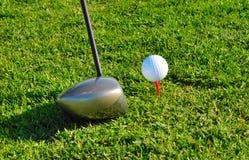 Determini il golf Fotografia Stock Libera da Diritti