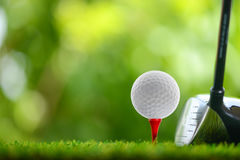 Determini il golf Immagini Stock Libere da Diritti