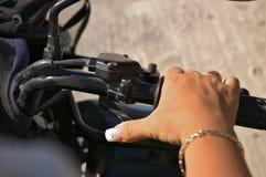 determini il manicure Immagini Stock
