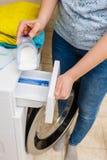 Detersivo del detersivo della lavanderia immagine stock libera da diritti