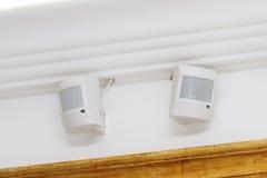 Detetores de movimento da segurança Imagens de Stock Royalty Free