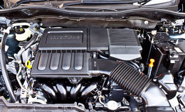 Detial of car engine Royalty Free Stock Photos