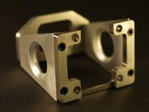 Detial CNC maschinelle Bearbeitung Stockfotos