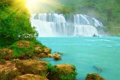 detian водопад стоковое фото