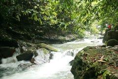 Detian Falls. Detian Waterfall is located in Detian village, Xinxian County, Chongzuo, the Guangxi Zhuang Autonomous Region, and the upper reaches of the GUI Royalty Free Stock Images