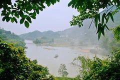 Detian Falls stock photo