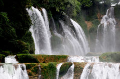 Detian Grand Waterfalls Royalty Free Stock Photos