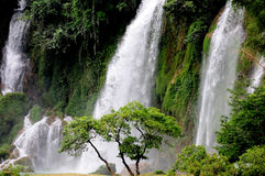 Detian Grand Waterfalls Royalty Free Stock Photo