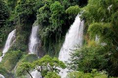 Detian Grand Waterfalls Stock Images