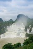 detian vattenfall royaltyfri foto