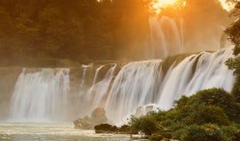detian vattenfall Royaltyfria Bilder
