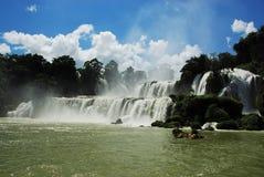 detian vattenfall Arkivbilder
