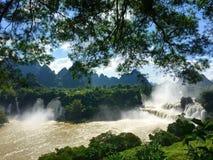 detian vattenfall Arkivfoton