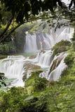 Detian vattenfall i Kina, också som är bekant som förbudet Gioc i Vietnam Royaltyfria Bilder