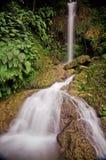 Detian vattenfall på Cao Bang, Vietnam Arkivbild