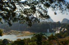 Detian-Wasser-Fall Lizenzfreies Stockbild