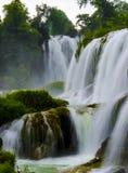 Detian-Wasserfall lizenzfreie stockfotos
