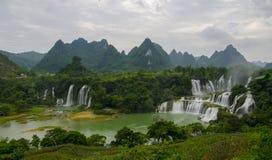 Detian-Wasserfall stockbild