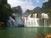 Detian Waterfall Royalty Free Stock Images