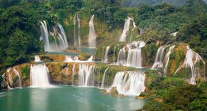Detian Waterfall Stock Image
