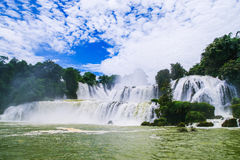 DeTian waterfall Stock Photos