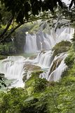 Detian Waterfalls in China, also known as Ban Gioc in Vietnam Royalty Free Stock Images