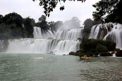 Detian waterfalls in Guangxi, China Stock Photography