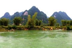 Detian waterfalls in Guangxi, China Stock Photo