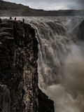 Detifoss. The largest european waterfall (Iceland Stock Images