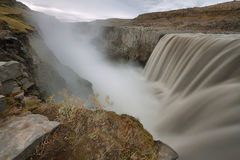 Detifoss waterfall in Iceland Stock Images