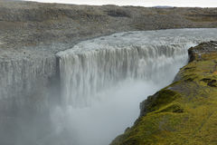 Detifoss waterfall in Iceland Stock Photography