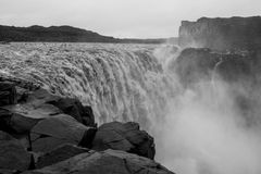 Detifoss waterfall Royalty Free Stock Images