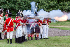 DETLING KENT/UK - AUGUSTI 29: Militär odyssey på Detling Kent royaltyfri foto