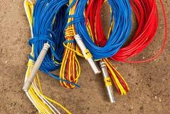 Detonador eléctrico Imagen de archivo libre de regalías