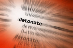 Detonate Stock Images