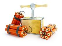 Detonator dynamite Stock Images