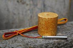 Detonator i środek wybuchowy Fotografia Royalty Free