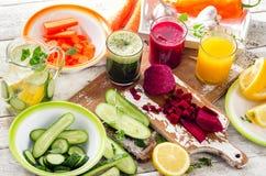 detox äta som är sunt royaltyfri fotografi