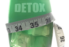 Detox royalty-vrije stock afbeelding